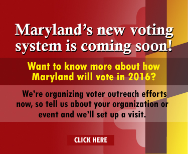 Maryland's new voting system